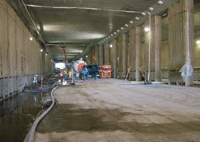 tunnel waterproofing-tunnel remediation